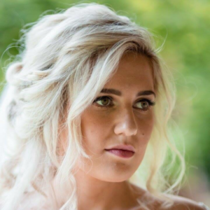 bridal hair photos