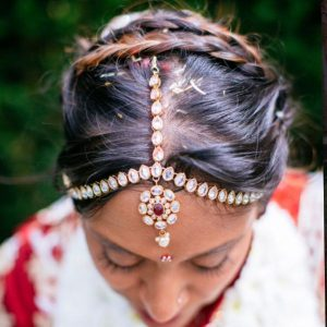 asian wedding hair