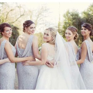 female bridal party