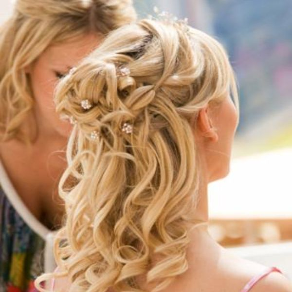 pre wedding bridal hair trial